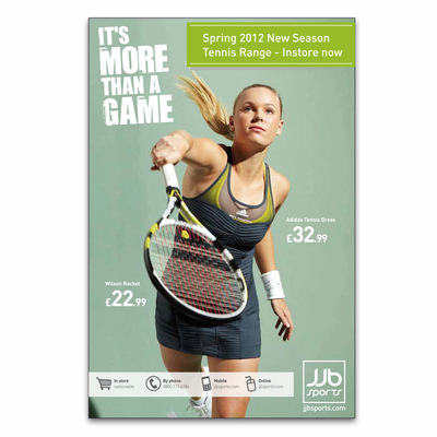 Andrew Bannerman-Bayles - More Than A Game Campaign Poster   JJB Sports