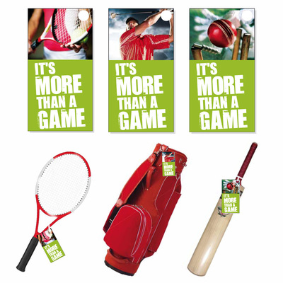 Andrew Bannerman-Bayles - More Than A Game Campaign Tags  JJB Sports