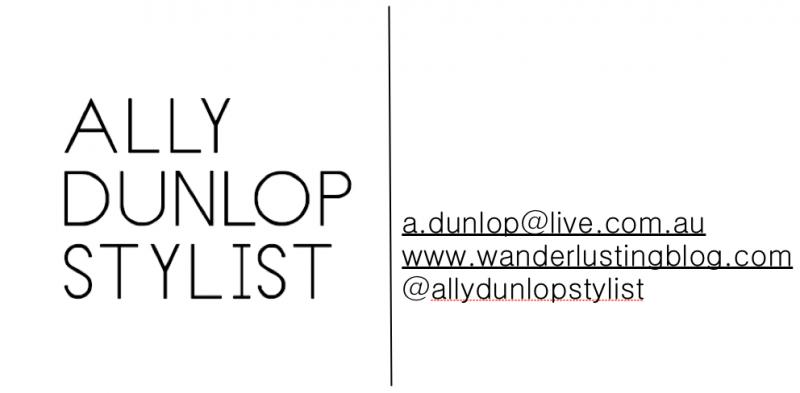 Ally Dunlop Stylist