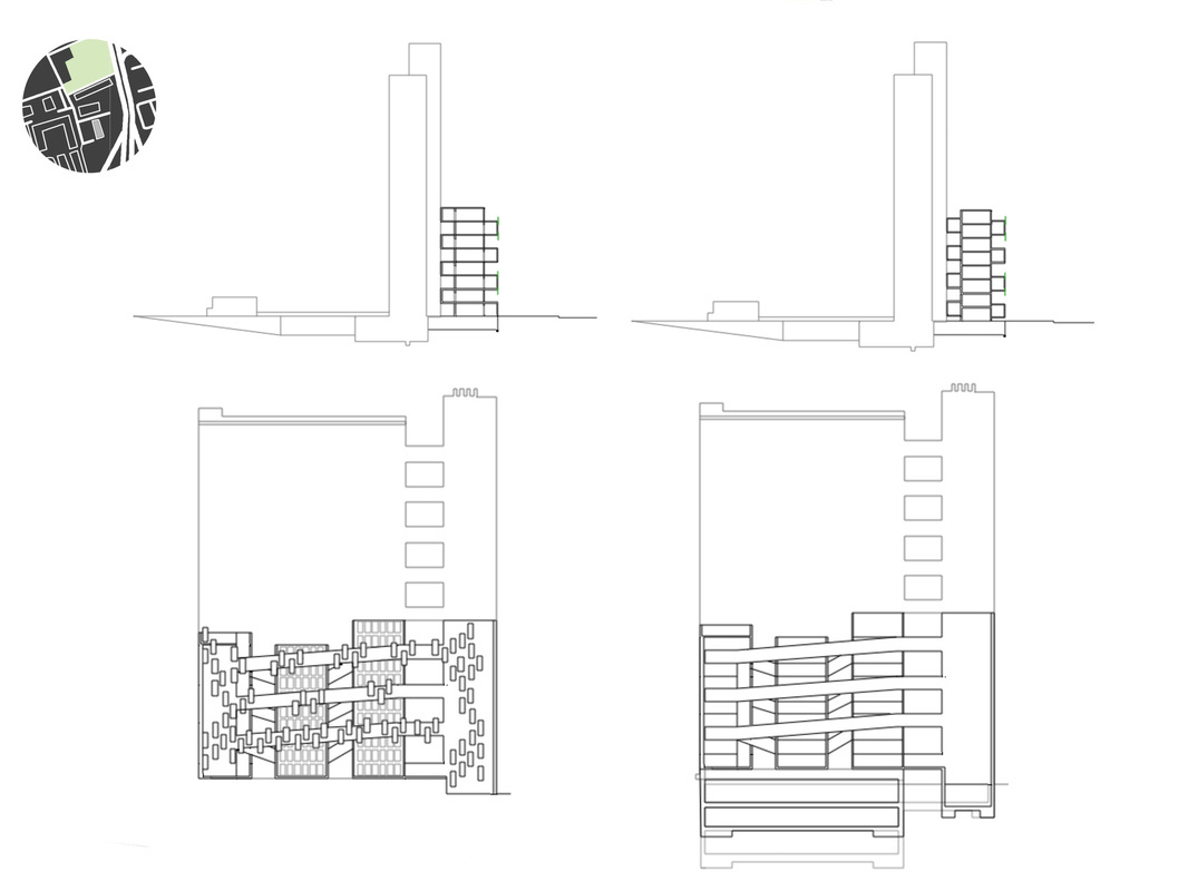 Margaret Molly McCormick Portfolio - Balfron Tower Imposed Public-Use Space Proposal (Section)