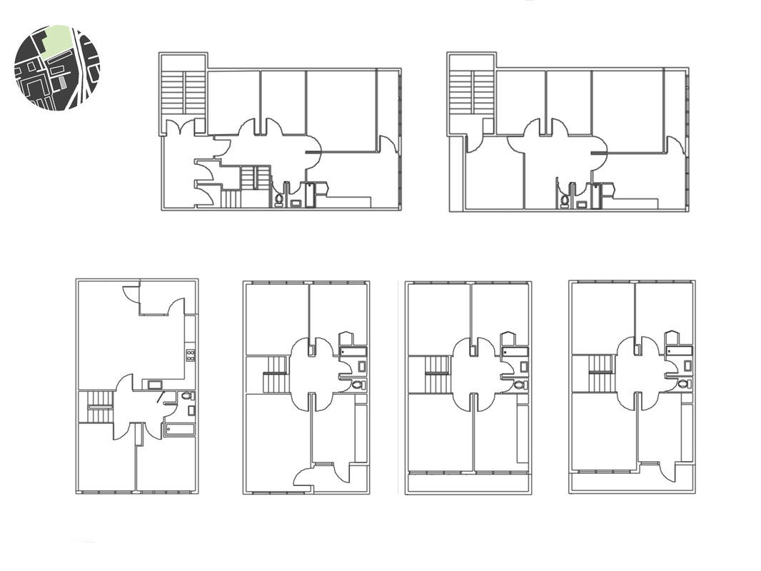Margaret Molly McCormick Portfolio - Balfron Tower Individual Apartment Plans