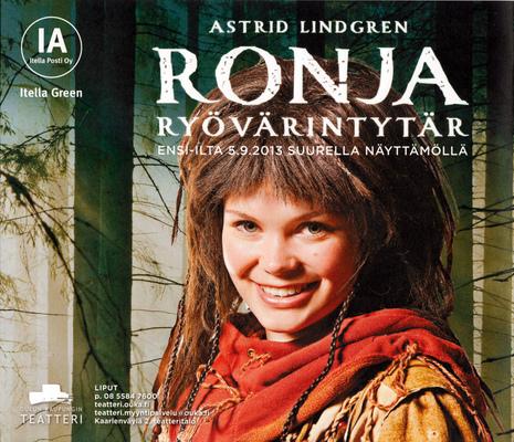 jussi.tuokkola.studio.ukkoshuone - Oulu City Theatre Ronja poster