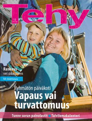 jussi.tuokkola.studio.ukkoshuone - Tehy-Lehti Cover