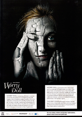 jussi.tuokkola.studio.ukkoshuone - Worry Doll poster