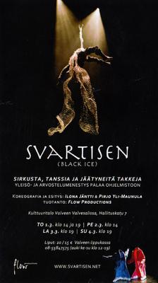 jussi.tuokkola.studio.ukkoshuone - Svartisen poster