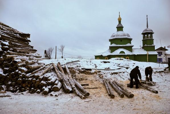 a l e s s a n d r o f a g i o l i - Monastery of Troitse-Stefano-Ulyanovskiy, Ulyanovo, Republic of Komi