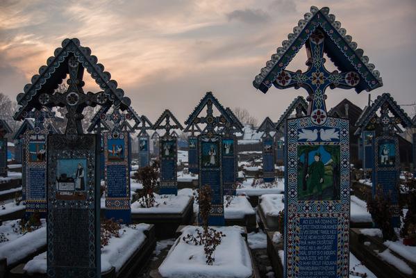 a l e s s a n d r o f a g i o l i - Cimitirul Vesel, Săpânța, Romania