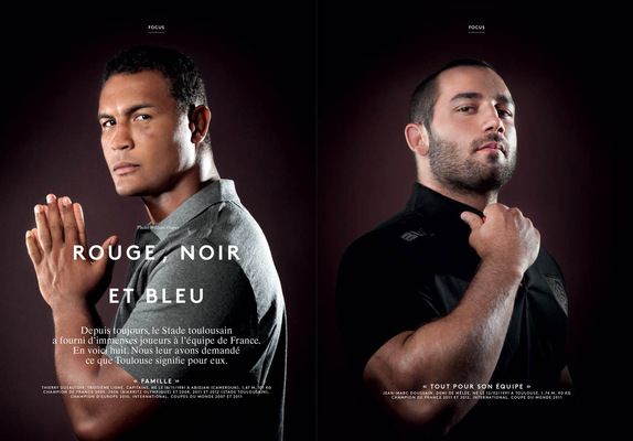 William Dupuy Photographe - Attitude Rugby spécial Toulouse