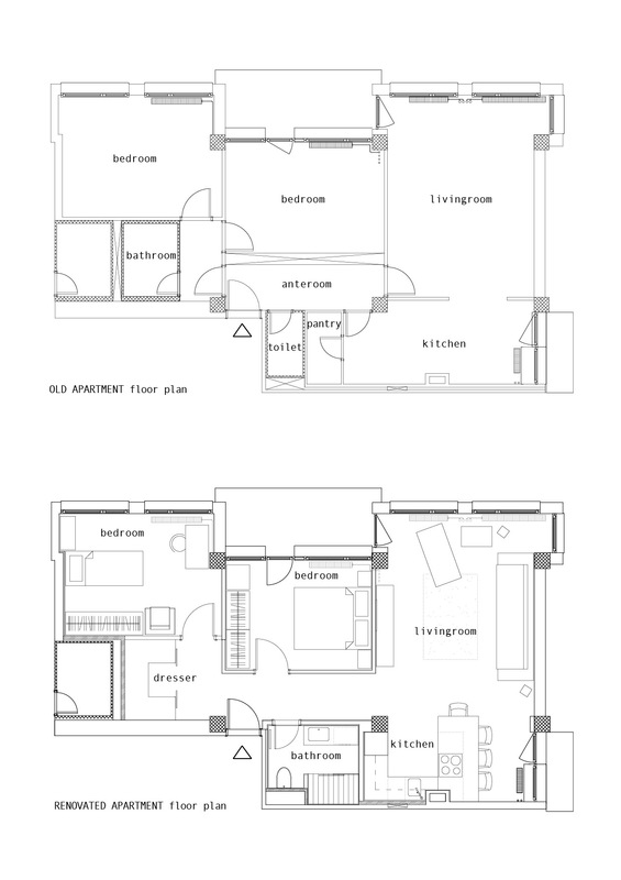 Furniture - floor plans
