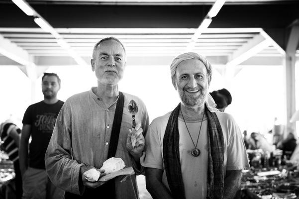 Özgür Ülker Photography - Jurgen Lehl & Mike (Ali Necdet Akbayrak) İstanbul Bit pazarı