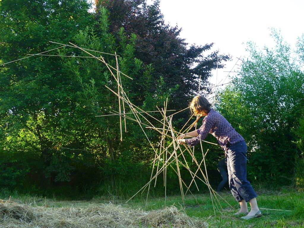 Jörg Kaspari - Landschaftsarchitekt - Bauen mit Bambus
