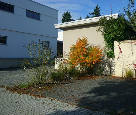 Jörg Kaspari - Landschaftsarchitekt - Einfahrt zum Wohnhof