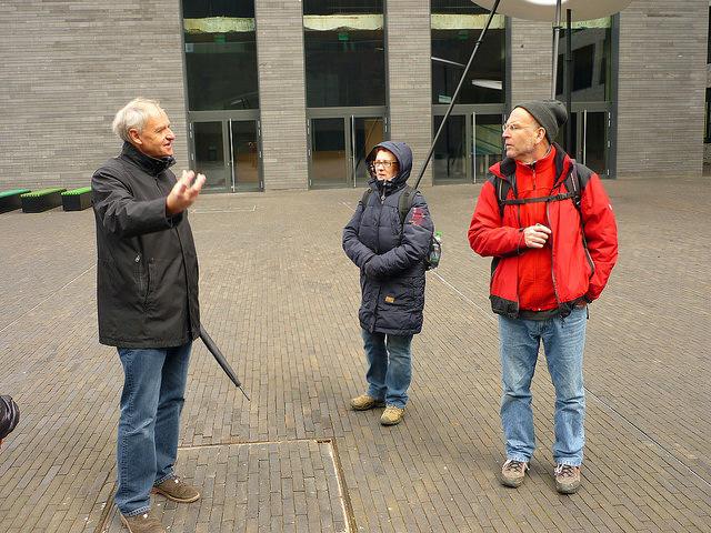 Jörg Kaspari - Landschaftsarchitekt - Vielen Dank für die kompetente Führung von Jean Goedert (links)! Infos zu Führungen: Le Fonds Belval