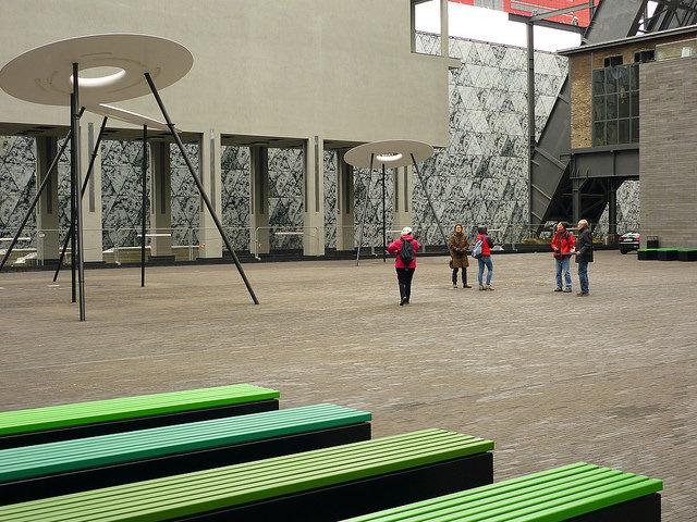 Jörg Kaspari - Landschaftsarchitekt - Place des Hauts-Fourneaux - Quartiersplatz
