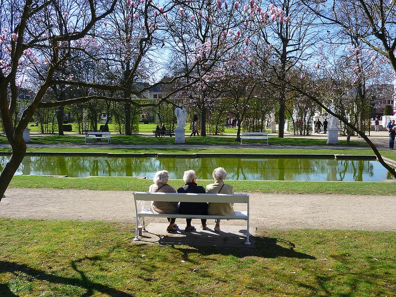 Jörg Kaspari - Landschaftsarchitekt - Erholung im Palastgarten