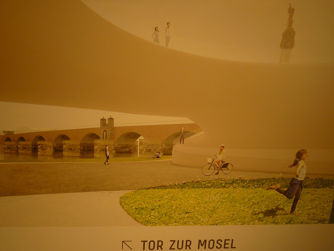 Jörg Kaspari - Landschaftsarchitekt - Tor zur Mosel - Beginn der Südallee
