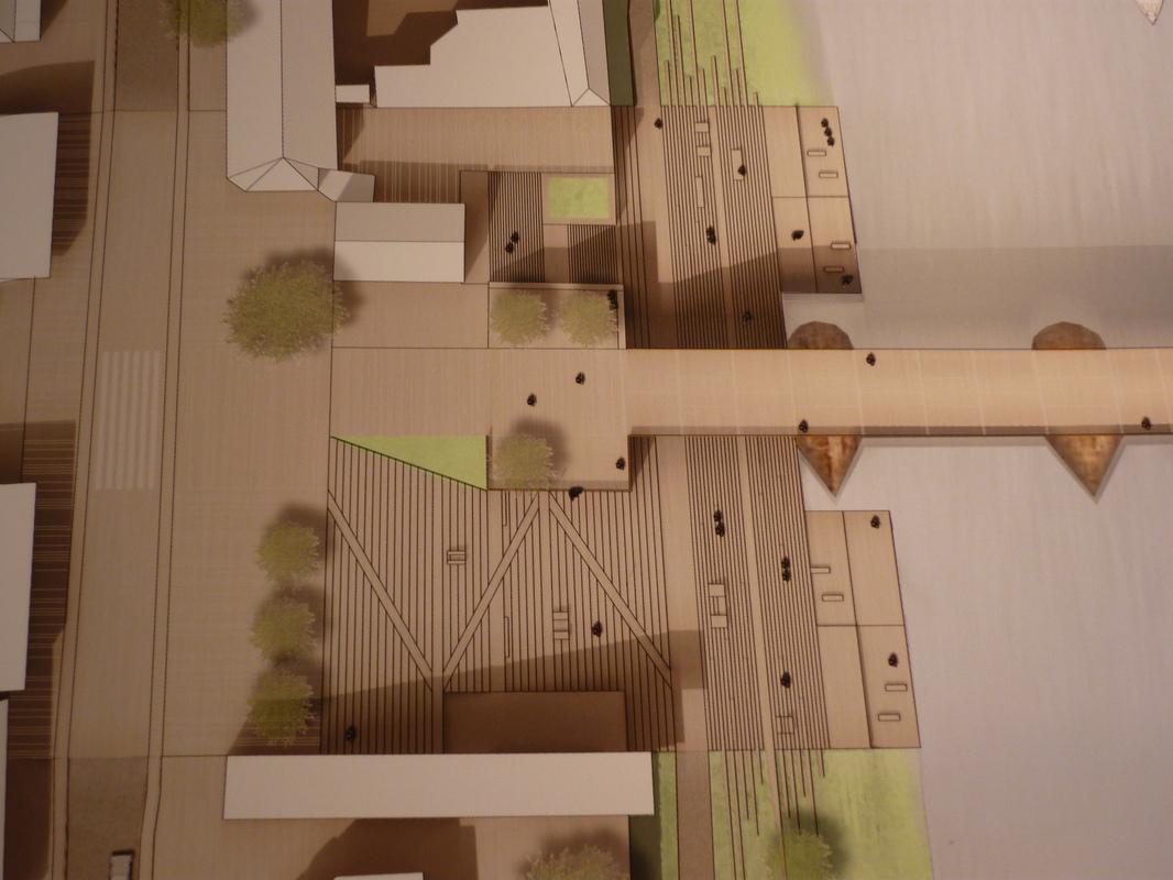 Jörg Kaspari - Landschaftsarchitekt - Freiräumen des Weltkulturerbes Römerbrücke