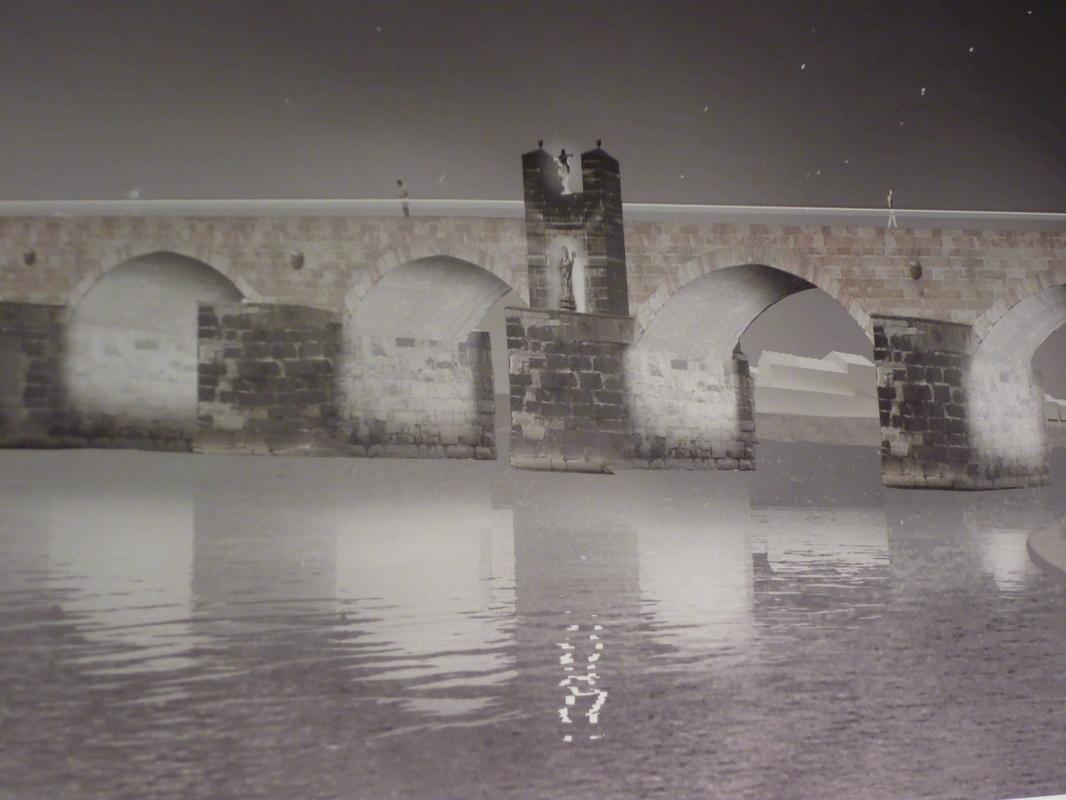 Jörg Kaspari - Landschaftsarchitekt - Nachtansicht Römerbrücke