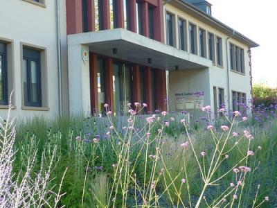 Jörg Kaspari - Landschaftsarchitekt - Welcome - Freianlagen egp Gebäude