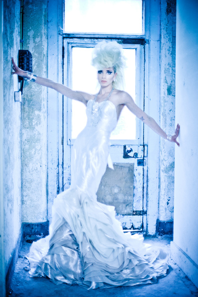 Lucille Dee - Renaissance Couture Designer - Kevin Freeman Photography - David Levine Hair - Simon Webster Model - Simone Jane Piper