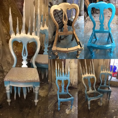 Lucille Dee - Fantasy Ice Chairs. Amex Stadium Christmas Grotto.