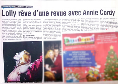 Lyne Looze ♡ Photographer - Lolly Wish (live) ◊ LA MEUSE (NEWSPAPER) ◊ Dec. 2016