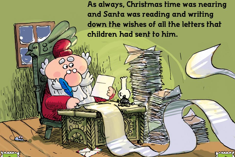 FRAN  BRAVO - The letter to Santa