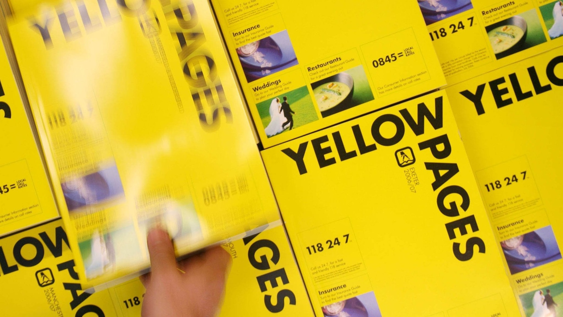 Yellow Page App