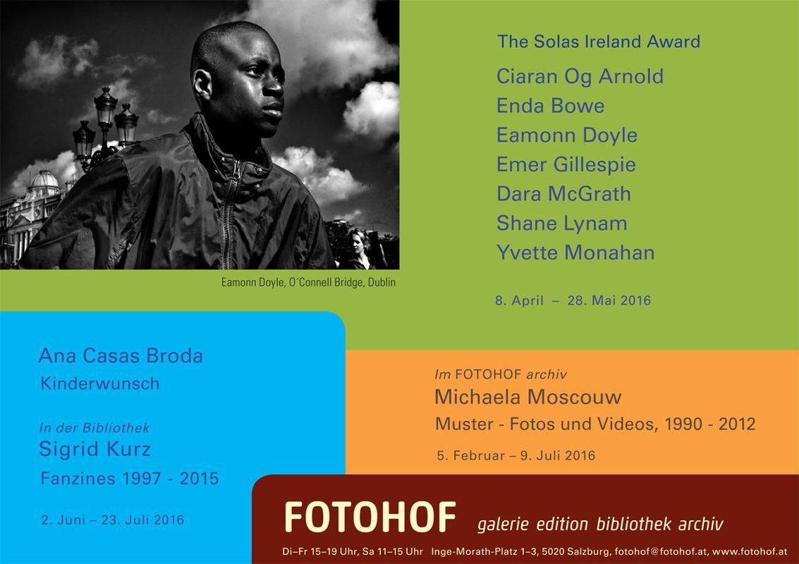 Solas Ireland exhibit @ Fotohof Austria
