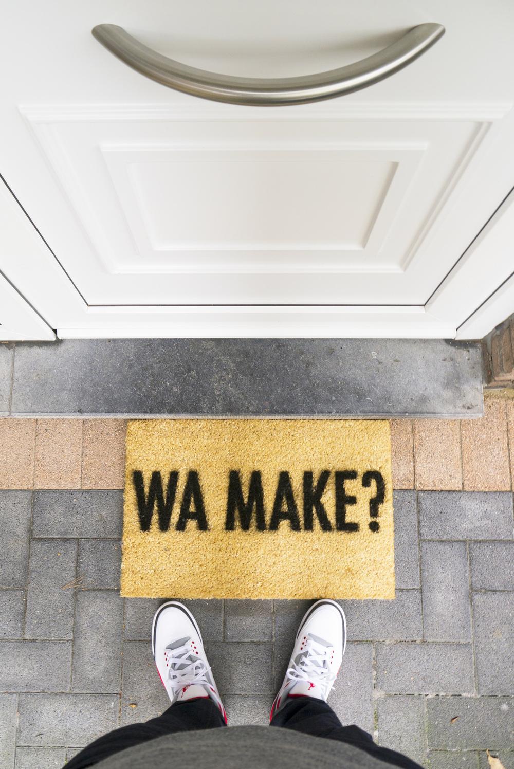 Peter Baeten - Local 'Welcome' Doormat