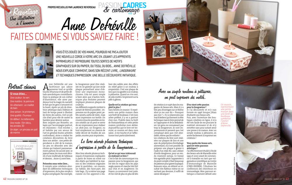 Laurence REVERSEAU - Anne Defréville