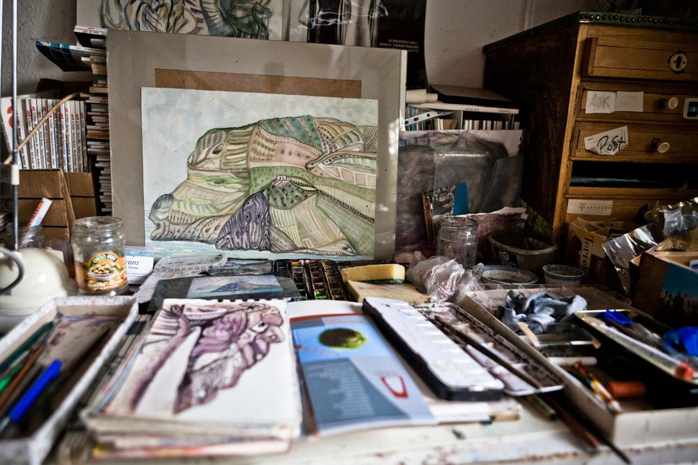 Barbara Dombrowski - Minkas Garten_ein Künstlerportrait