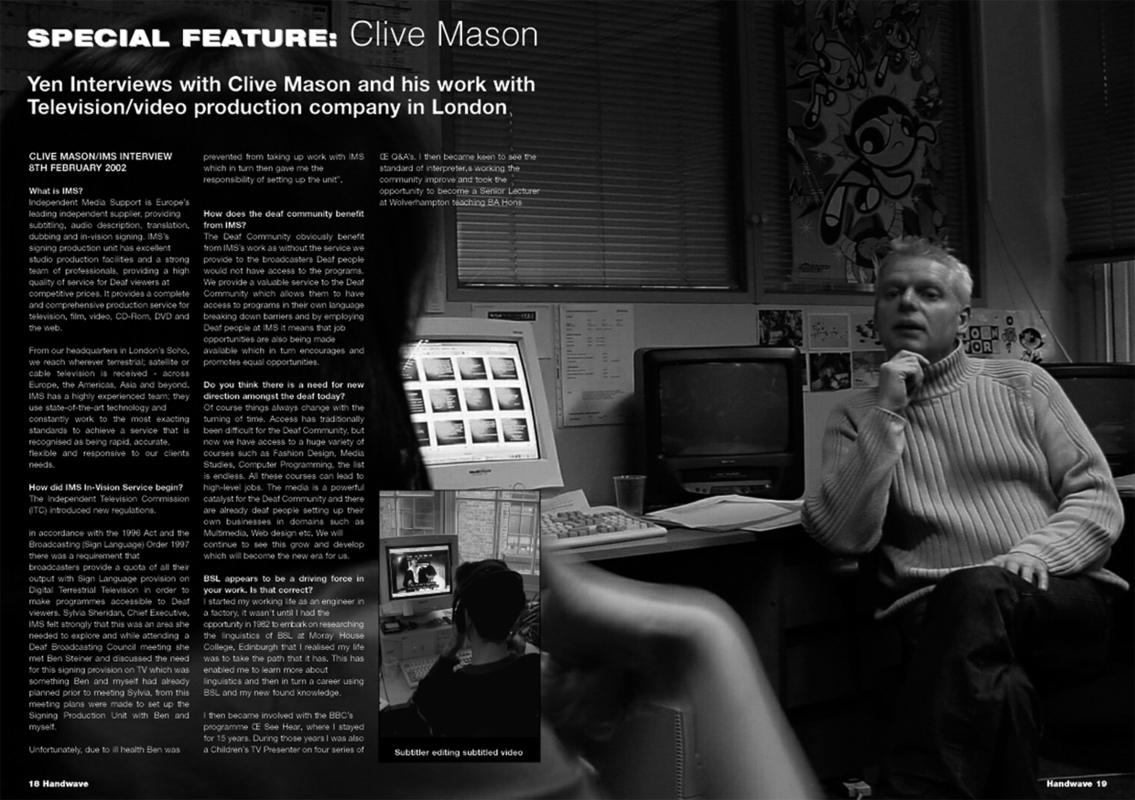 Handwave magazine - layouts - Niall Burke