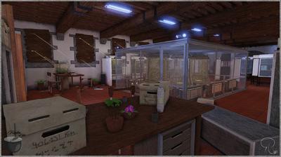 ForgottenOfMen - Environment - Romain Lambert - 3D Character