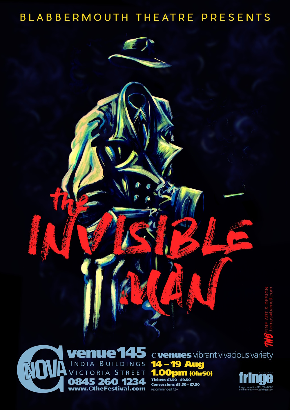 Thomas William Barnett Fine Art & Design - The Invisible Man