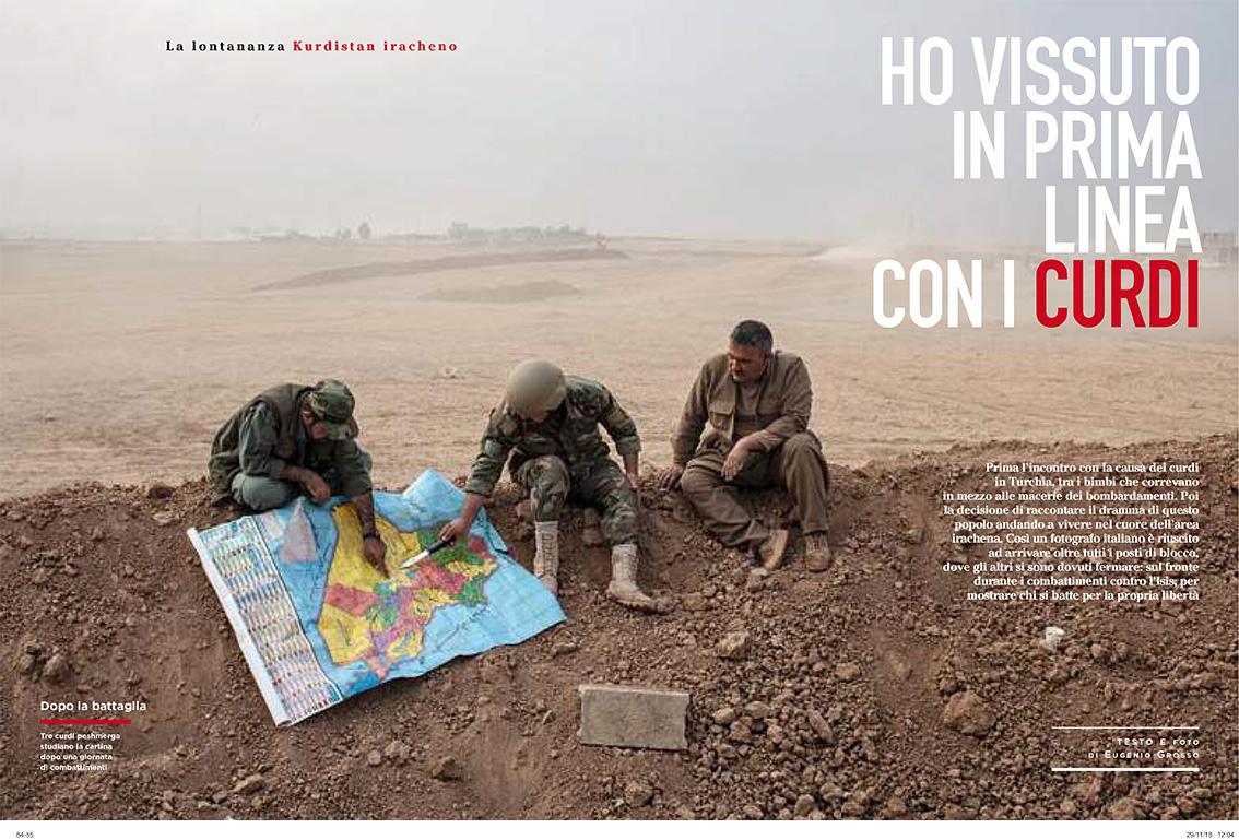 Cartina Kurdistan.Tearsheets