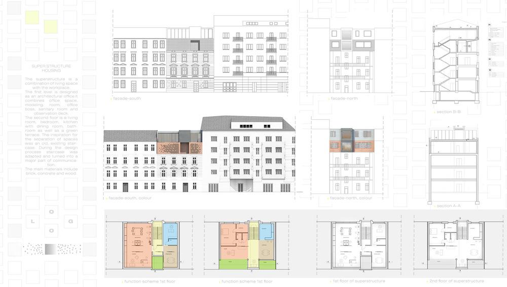 superstructure - architecture student portfolio