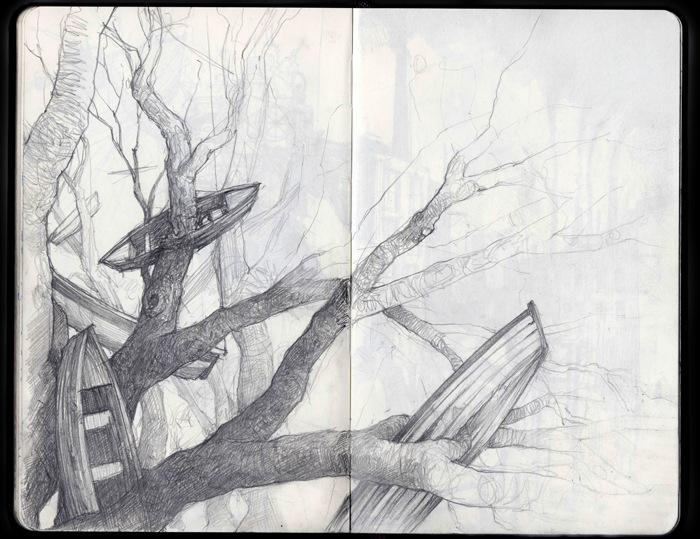 Joshua Drewe - Sketchbooks