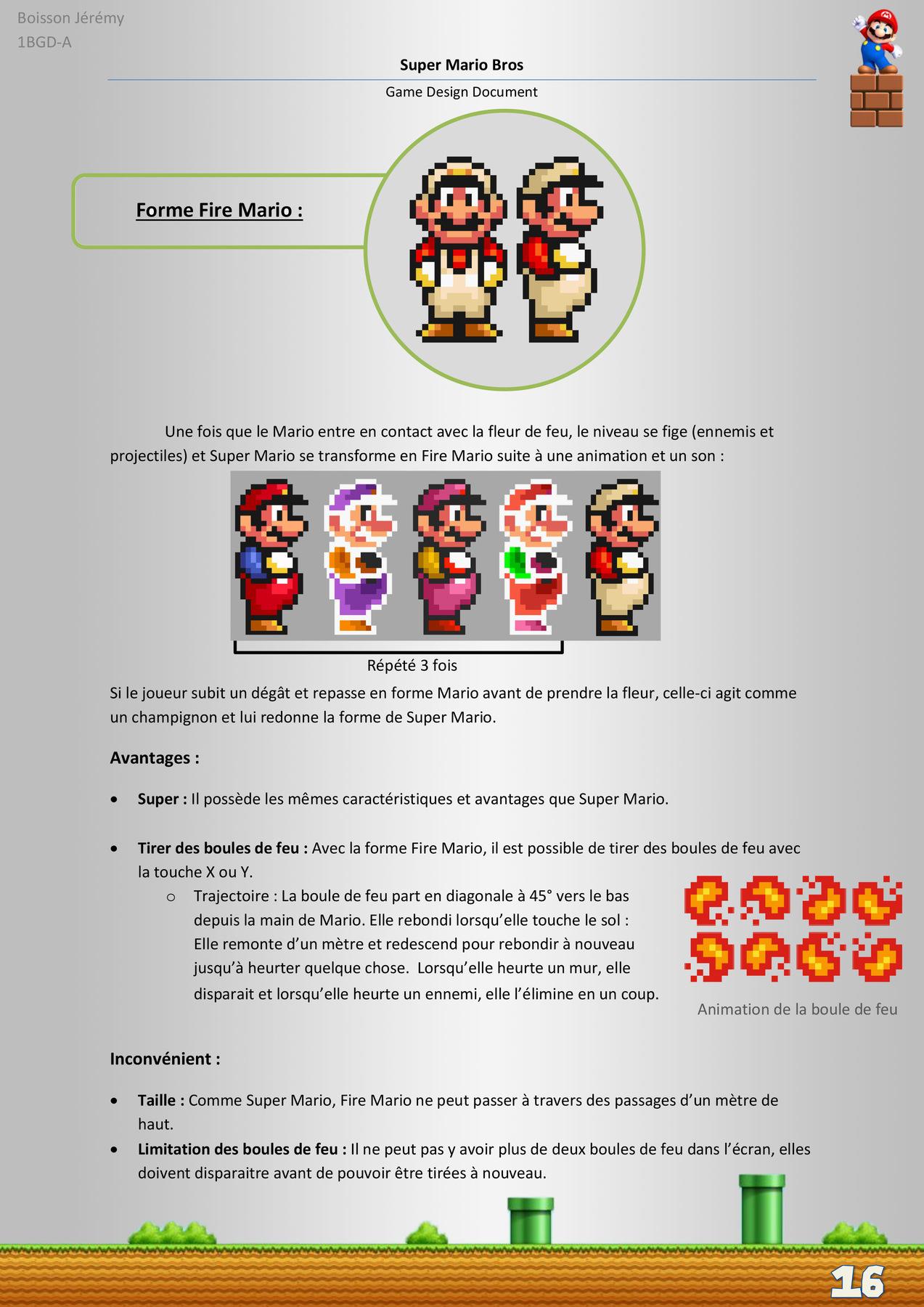 Game Analysis Super Mario Bros Snes Jeremy Boisson Game Designer
