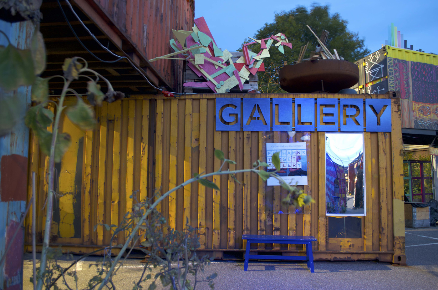Yellow Container Gallery