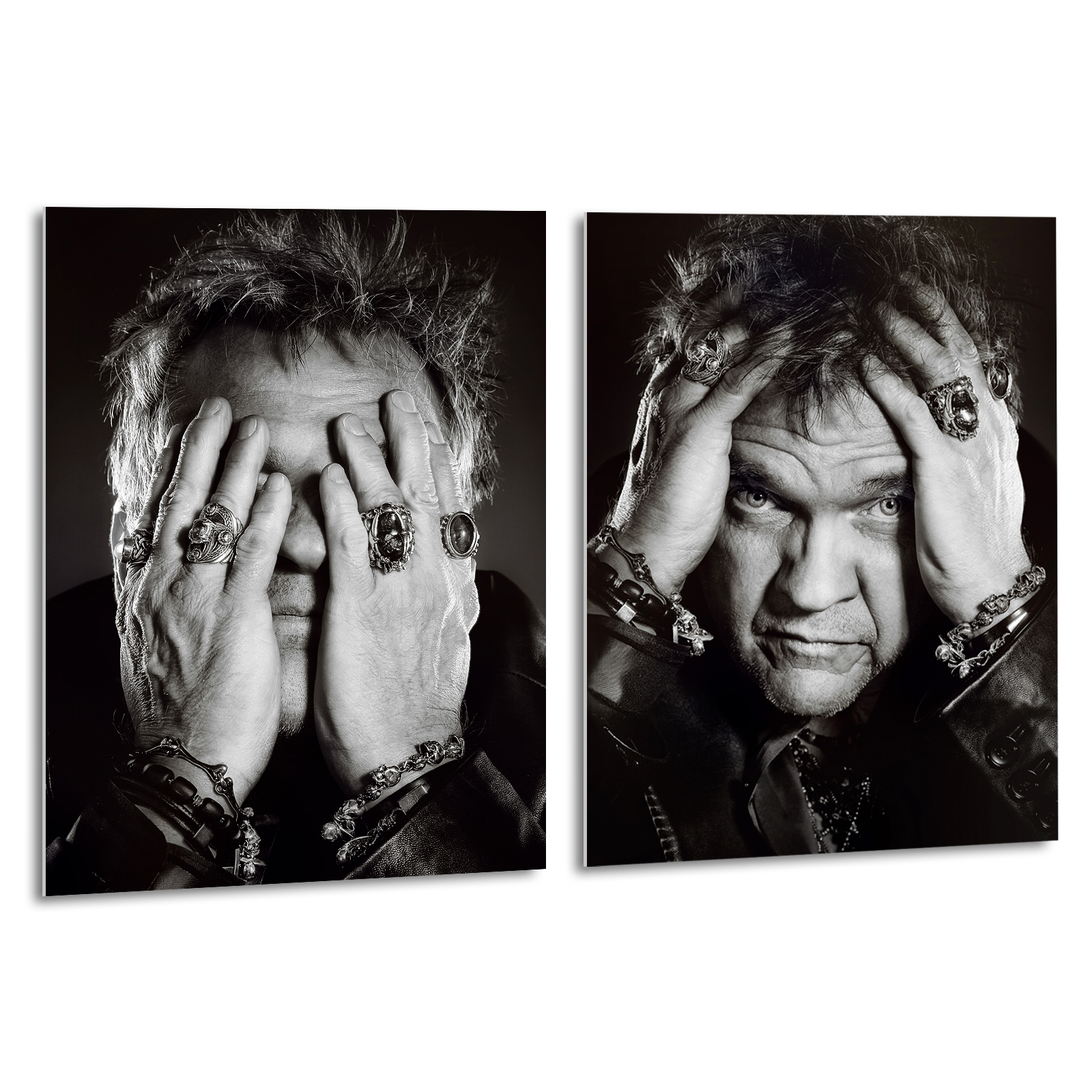 MEAT LOAF Hands Series Gallery Edition Large Format Prints