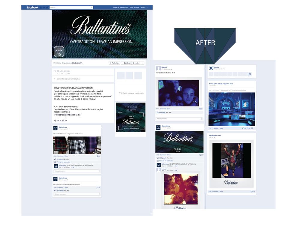 Alessia Casorati - GRAPHIC & EVENT // Ballantine's