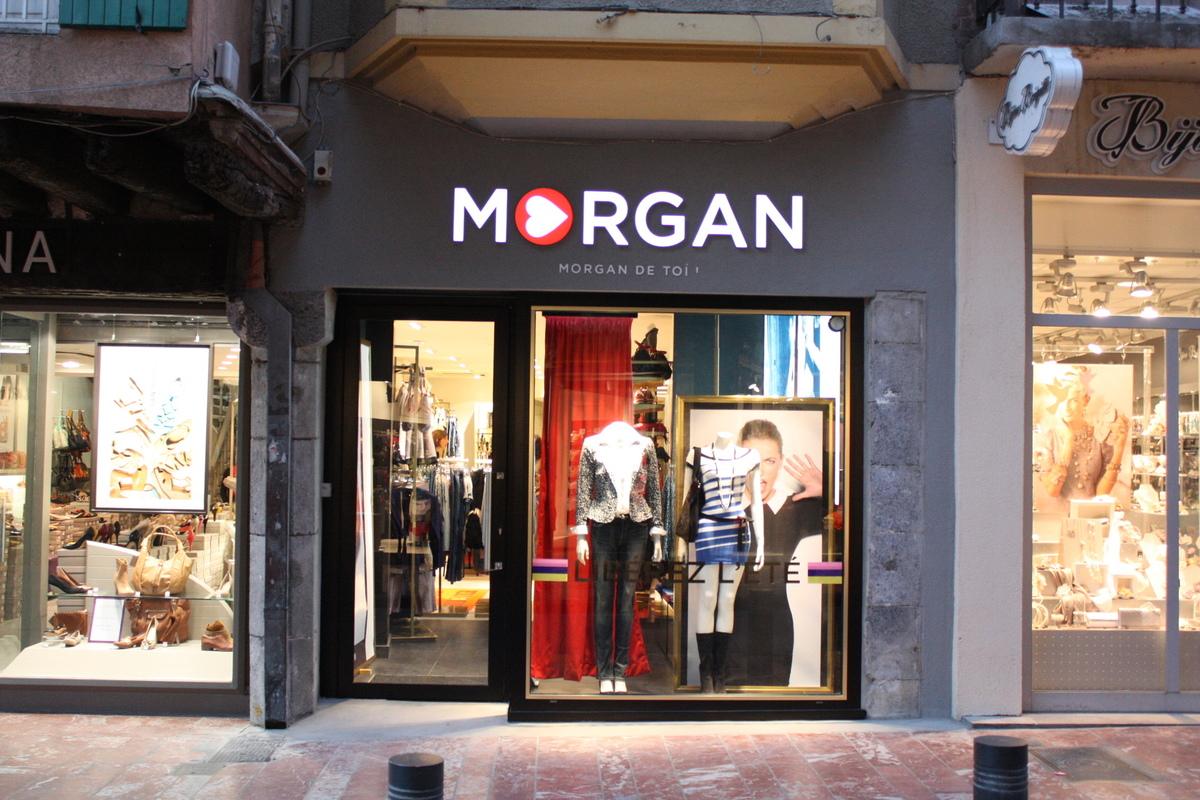 meilleur site web ef7b8 8efc0 BOUTIQUE MORGAN 70m² • PERPIGNAN • 2012