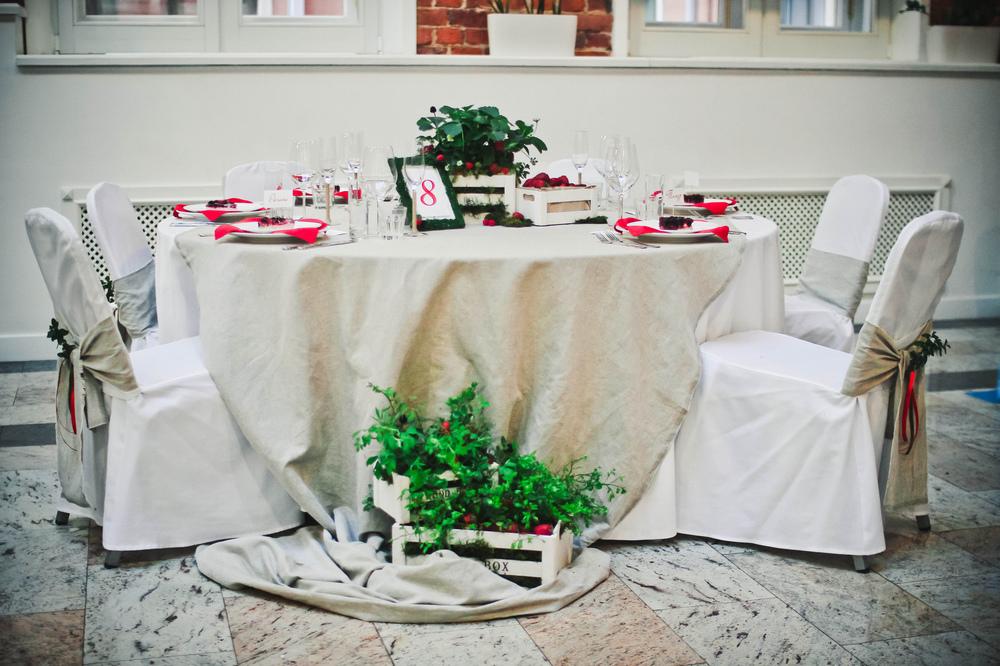 """кристина никулина - оформление банкетного стола. тема """"Ягодная поляна"""""""