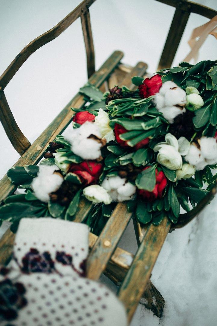 кристина никулина - Wedding winter photoshoot