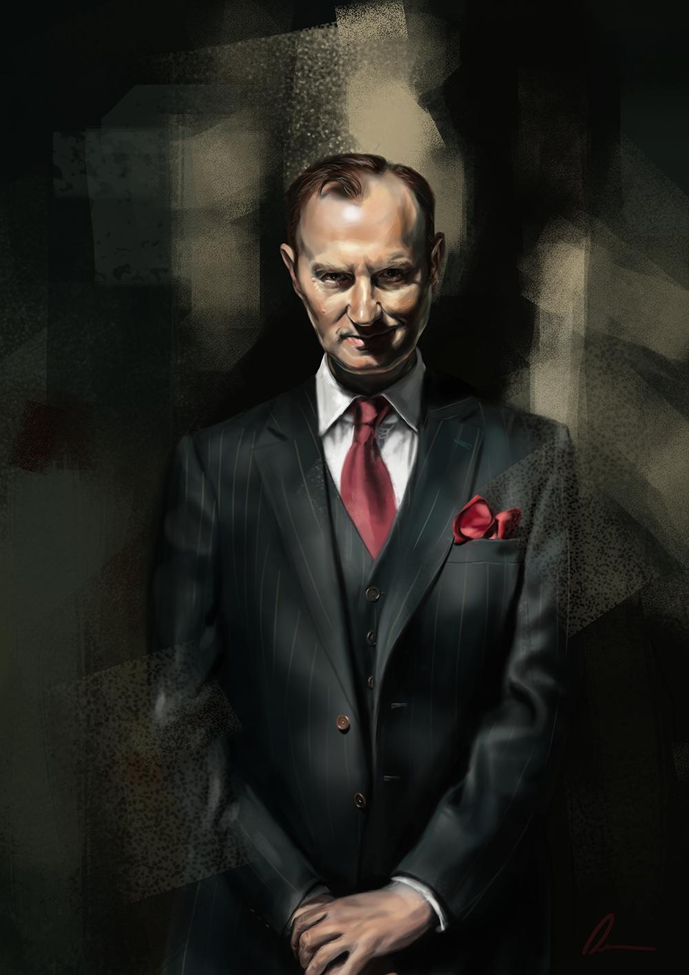 Bernadett Dian - BBC Sherlock Portraits