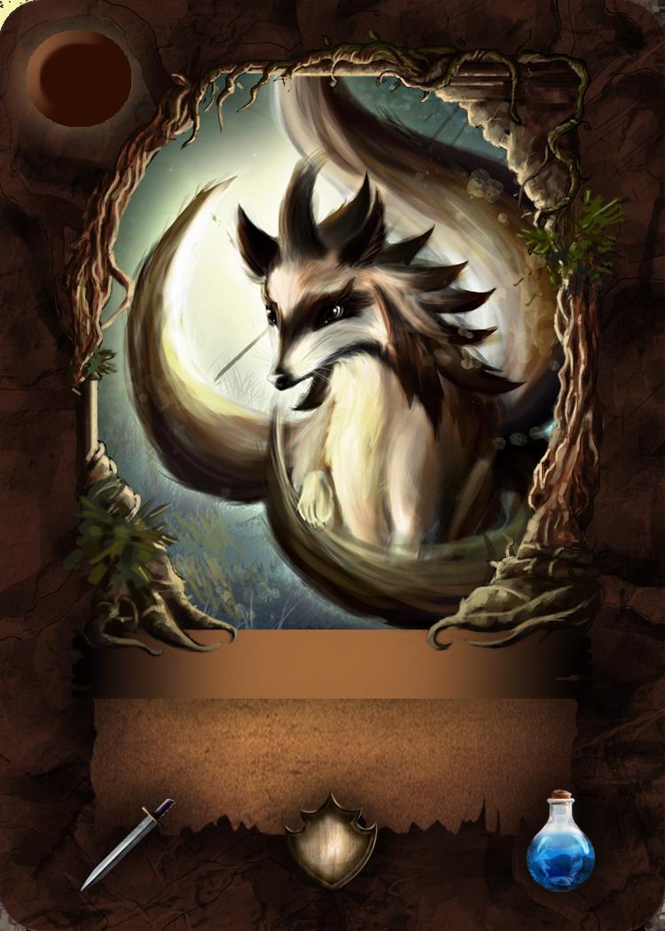 Bernadett Dian - Creation - Bellum Infinitum Cardgame