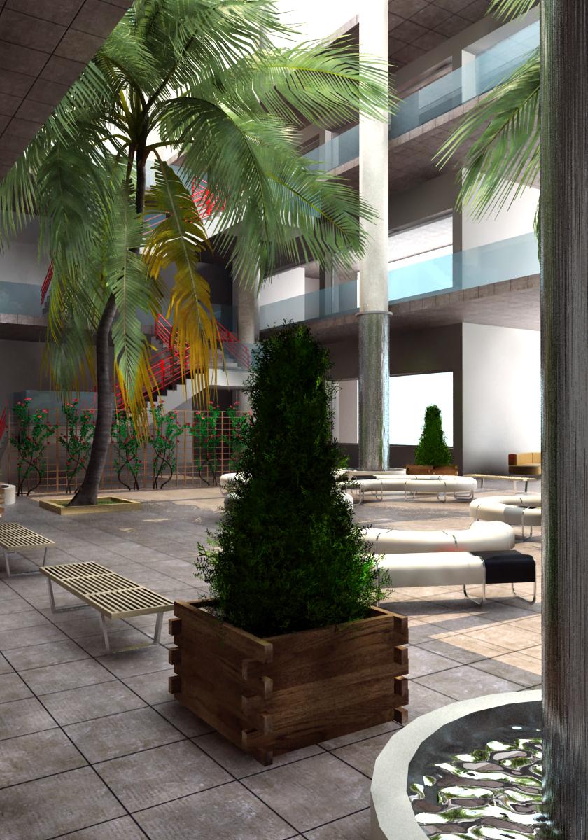 Bilal Hoss - Atrium re-Design