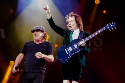 Brian Johnson & Agnus Young (AC/DC)