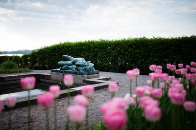 Trädgården vid Prins Eugens Waldemarsudde, Marina Rydberg Norstedts